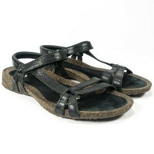 Teva Ventura Cork Waterproof Leather Sandals